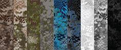 Kryptek camouflage --This poster admits, Kryptek is a very attractive pattern!