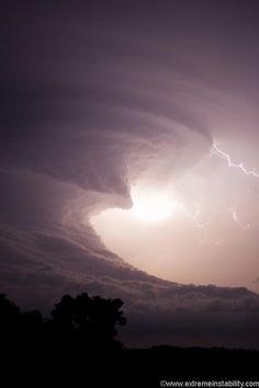 Impresionante nube de tormenta