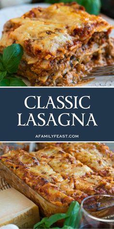 lasagna recipe classic / lasagna recipe - lasagna recipe with ricotta - lasagna recipe easy - lasagna recipe with cottage cheese - lasagna recipe easy simple - lasagna recipe with ricotta beef - lasagna recipe easy ricotta - lasagna recipe classic Cottage Cheese Lasagna Recipe, Easy Lasagna Recipe With Ricotta, Classic Lasagna Recipe, Best Lasagna Recipe, Lasagna Recipes, Italian Lasagna, Meat Lasagna, Baked Lasagna, Lasagna Noodles