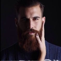 Beards were meant to be fondled.