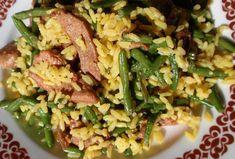 Fazolky s kari rýží a masovými nudličkami - rychle a chutně Quiche, Potato Salad, Potatoes, Ethnic Recipes, Food, Potato, Essen, Quiches, Meals