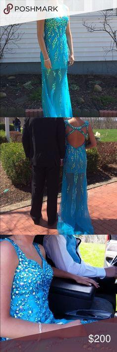Prom dress! Blue prom dress! $200 OBO Dresses Prom