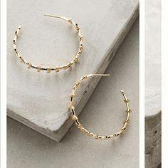 Nina hoops Nina hoops Anthropologie Jewelry Earrings