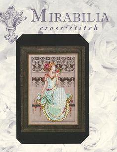 Persephone w/ Lotus Flowers Mirabilia Design Chart  #Mirabilia