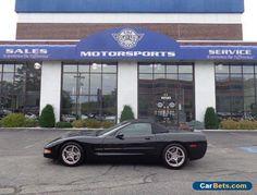 2004 Chevrolet Corvette convertible #chevrolet #corvette #forsale #unitedstates
