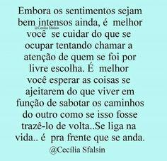 Texto lindo da Cecília Sfalsin
