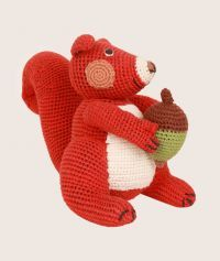 Amazing #handmade #organic #knitted #toy by #AnneClairePetit available at www.fancykids.com #FancyKidsLondon #online #store #children #ecofriendly #products #kids