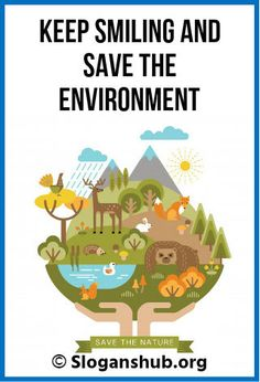 Catchy slogans on environment that will help you to. Best for all type of awareness campaigns to capture . Best environment slogans to meet all your. Slogan On Environment, Environment Day Quotes, Green Environment, Catchy Slogans, Awareness Campaign, Future, Live, Healthy, Poster