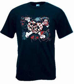 Camiseta MC Love Punk Azul