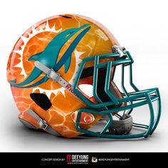 Cool Football Helmets, Football Helmet Design, Football Team, Tennessee Football, Gucci Mini Bag, 32 Nfl Teams, Nfl Miami Dolphins, Safety Helmet, Leather Accessories