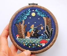 Baobap Handmade - Self-taught stitcher transforms her illustrations into quirky embroidered art | Creative Boom
