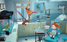 Finding Nemo Dentaltown - Dentists in the movies. Disney Pixar, Film Disney, Dental Life, Dental Art, Dentist Humor, Dentist In, Up The Movie, Free Dental, Teeth Care