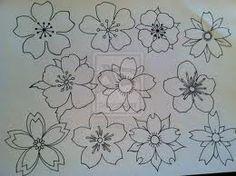 cherry blossom tattoo sketch - Szukaj w Google
