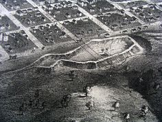Aerial view of Fort Smith, used during the Civil War. To open as an attraction in Summer 2011.