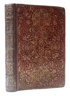 (1624 - 1683 ) Samuel Mearne an accomplished and innovative craftsman was appointed as Royal Binder to Charles II, an office which he also held during the reign of James II. Several bindings are accredited to Mearne from the library of Charles which are bound in red morocco incorporating rectangular panels tooled in gold with the Royal Monogram o. What he is most noteworthy for is the development of the English '' Cottage '' design.