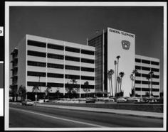 General Telephone Co. building, 1960 was the largest employer for Santa Monica for years..General Telephone Co. of California announced Monday Jan 15, 1985 that it plans to move its corporate headquarters from Santa Monica, where it is the city's largest private employer, to Thousand Oaks in Ventura County.
