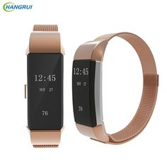 HANGRUI Steel Metal Strap for original Fitbit Charge 2 band Magnetic Milanese Loop Wrist Bracelet replacement Smart accessories Fitbit Charge, Charge 2 Bands, Wearable Device, Steel Metal, Portable, Bracelets, Consumer Electronics, Tick Insect, Band