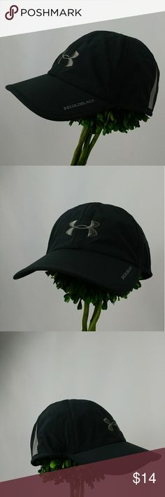 Under Armour cold black heat gear cap/hat One Size Under Armour cold black heat gear cap/hat One Size This moisture-wicking hat is perfect for all kinds of activities: running, training, or golfing. 100% polyester. Lightweight adjustable cap. Moisture Transport System wicks moisture for dry comfort. Embroidered logo on the front and wordmark on the back. In good clean condition. Black and grey color. Under Armour Accessories Hats