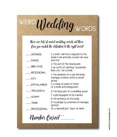 New Bridal Shower Games: 20 Themed Ideas That Will Make Your Bridal Shower a Hit -