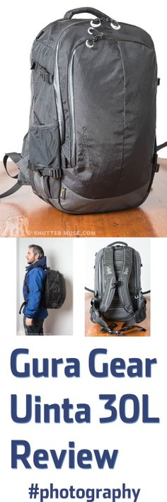 Review of the Gura Gear Uinta outdoor photography pack. Photography Reviews, Photography Tips, Backpack Reviews, Camera Gear, Photo Accessories, Outdoor Photography, Gears, Backpacks