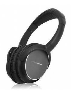 RevJams Studio Vibe Bluetooth Headphones with High Fidelity Sound - Over the Ear Design - Noise Isolating - 20 Hour Battery - $49.99 (save 67%) #amazon #revjams #electronics #headphones