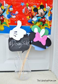 Showing Off Our DisneySide: Mickey Mouse Party Ideas Free Printable
