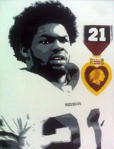 Sean Taylor #21 painting created and sent in by William.