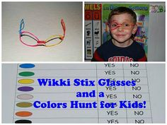 Teaching Colors in Preschool:  Colors Hunt, Gumball Machine Colors, and a Printable 10 Colors Book (with basic shapes).