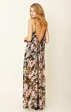 u back maxi dress styles