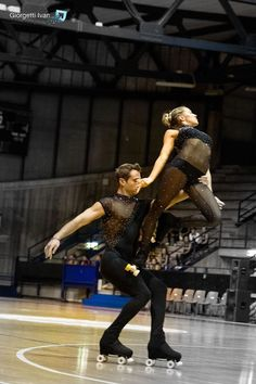 Italian Pairs Champions,Artistic roller skating inspirations for Sk8 Gr8 Designs