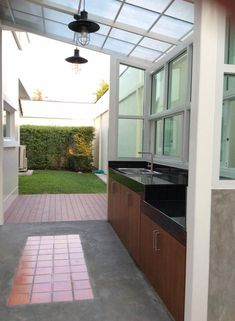 """See our web site for additional details on """"outdoor kitchen designs layout patio"""". It is an outstanding area to learn more. Dirty Kitchen Design, Outdoor Kitchen Design, Dirty Kitchen Ideas, Outdoor Kitchens, Küchen Design, House Design, Design Ideas, Backyard Kitchen, Summer Kitchen"""
