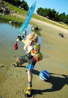 Tidus - Final Fantasy X cosplay by KANON #Final Fantasy #cosplay