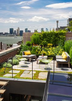 Tribeca Loft, Architecture, Interiors, Terrace, Green Roof, Renovation, Historic Building, NYC   Andrew Franz Architect