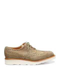 Mark McNairy  Suede Country Brogue Lace Ups