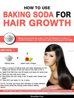 How to Make Hair Grow Fast With Baking Soda Using baking soda will help in getting rid of extra dirt from skull and allow hair to grow long and strong. To know How to use baking soda for hair growth Make Hair Grow Faster, How To Make Hair, Grow Hair, Hair Growth Shampoo, Best Hair Loss Shampoo, Thickening Shampoo, Natural Hair Loss Treatment, Hair Growth Treatment, Beauty