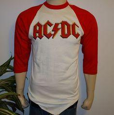 1980 AC/DC ACDC VINTAGE CONCERT T-SHIRT