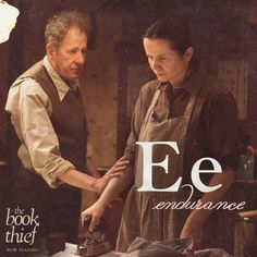 Endurance is a great word to describe Hans, Rosa, Liesel, and Max after everything they went through.