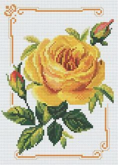 Thrilling Designing Your Own Cross Stitch Embroidery Patterns Ideas. Exhilarating Designing Your Own Cross Stitch Embroidery Patterns Ideas. Cross Stitch Cards, Cross Stitch Rose, Cross Stitch Flowers, Cross Stitching, Modern Cross Stitch, Rose Embroidery, Cross Stitch Embroidery, Embroidery Patterns, Cross Stitch Designs