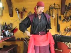 This is the 3rd in a series of How to Dress Like a Pirate videos by Tiger Lee of PirateFashions.com.  Here we demonstrate how to Tie a Pirate Sash N Belt.