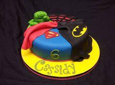 Resultado de imagen para superheroes cake