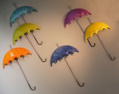 Kivotosgallery.blogspot.com Umbrellas wall art by K. Anastasaki at kivotos gallery Paphos Cyprus