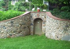 root cellar plans | Root cellars: They had 'em, we can only dream