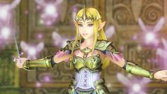 I love Zelda in Hyrule Warriors! She is so pretty and the fact she is a Queen and a warrior at the same time is awesome.