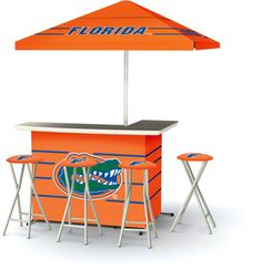 Florida Gators Portable Tailgate Bar  Perfect for EPIC TAILGATE.  #UltimateTailgate #Fanatics