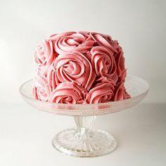 rose cake x