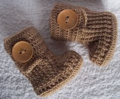 crochet shoes are a must for all babies!