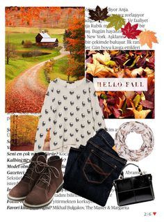 """""""FALL IS THE BEST SEASON!!"""" by av-anul ❤ liked on Polyvore featuring Balmain, Skull Cashmere and Abercrombie & Fitch"""