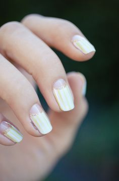 Spring Moon Manicure