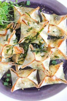 #Recipe: Baked Vegetable Wontons