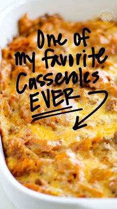 Mexican Dishes, Mexican Food Recipes, Ethnic Recipes, Enchilada Recipes, Enchilada Sauce, Great Recipes, Favorite Recipes, Casserole Dishes, Mexican Casserole